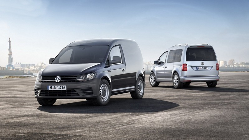 volkswagen caddy 4 me g n ration le plein de technologies fourgon van. Black Bedroom Furniture Sets. Home Design Ideas