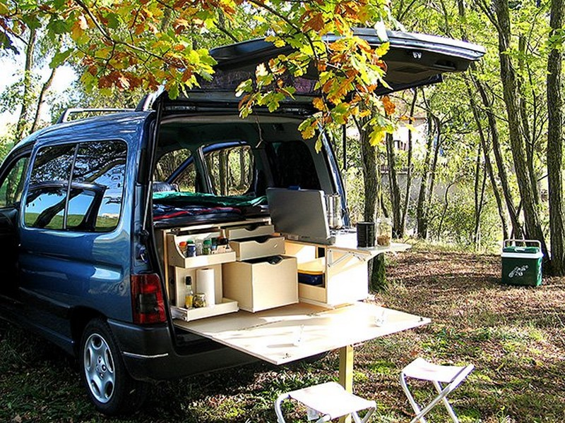 avec campinambulle transformez votre voiture en camping car fourgon van. Black Bedroom Furniture Sets. Home Design Ideas