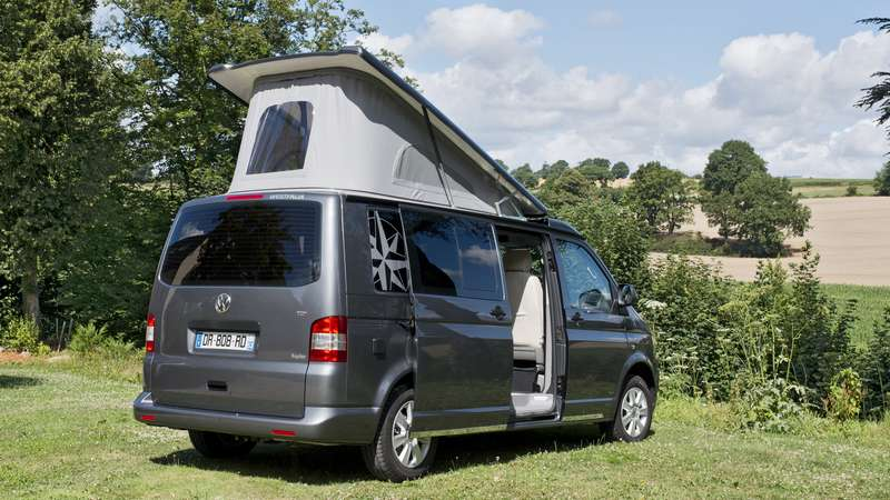 fourgon 2016 westfalia lance l 39 offensive sur le vw t6 et. Black Bedroom Furniture Sets. Home Design Ideas