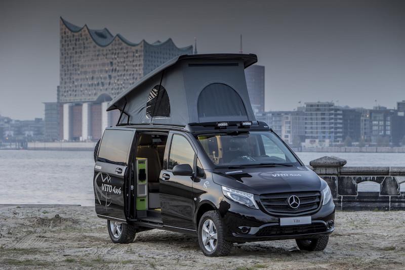 Mercedes Vito 4x4 Une Efficacite Remarquable Fourgon Van