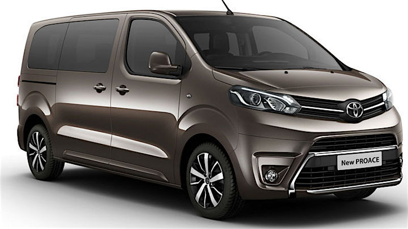 toyota proace futur concurrent du trafic fourgon van. Black Bedroom Furniture Sets. Home Design Ideas