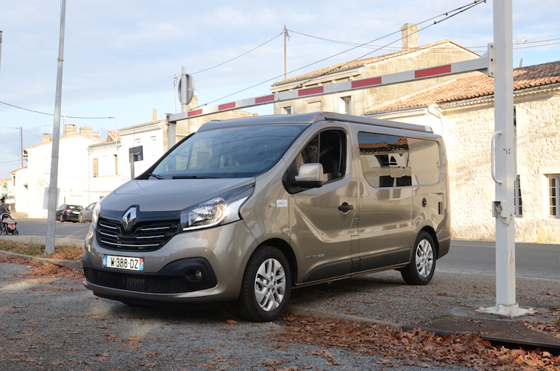 Fourgon Renault Trafic