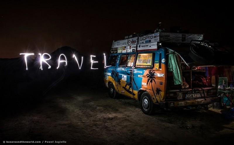 Bus Around The World