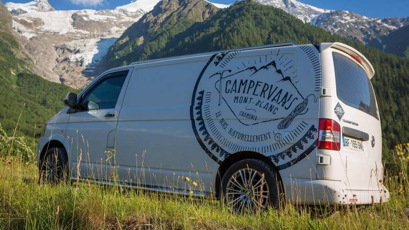campervans mont blanc un chalet sur roues colo fourgon van. Black Bedroom Furniture Sets. Home Design Ideas