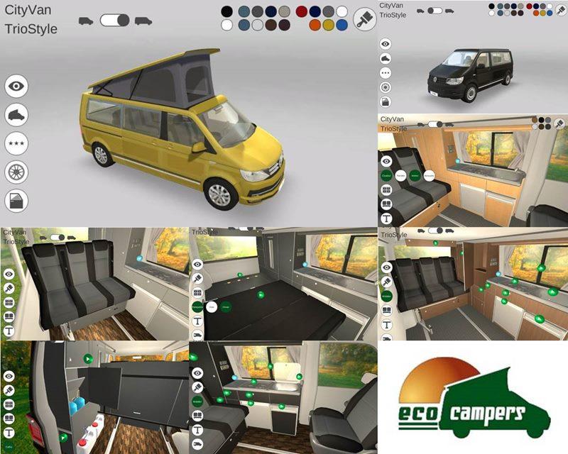 Eco Campers configurateur 3D