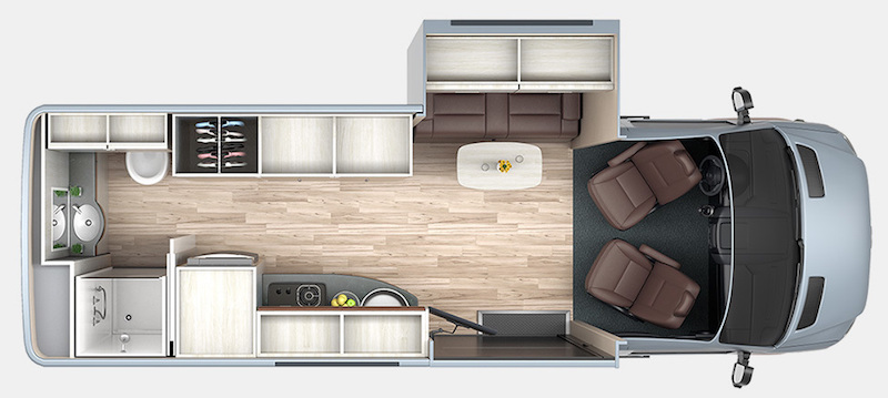 Les plus beaux fourgons avec extension fourgon van - Class a motorhomes with rear bathroom ...