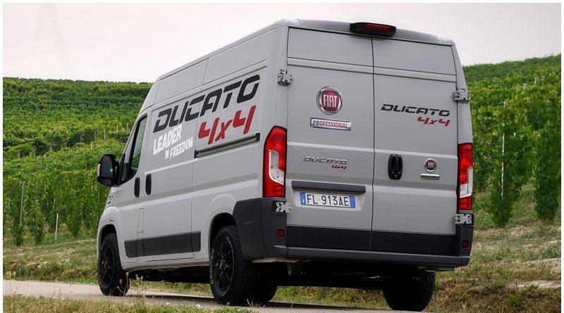 le fiat ducato euro 6 passe en mode 4 x 4 fourgon van. Black Bedroom Furniture Sets. Home Design Ideas