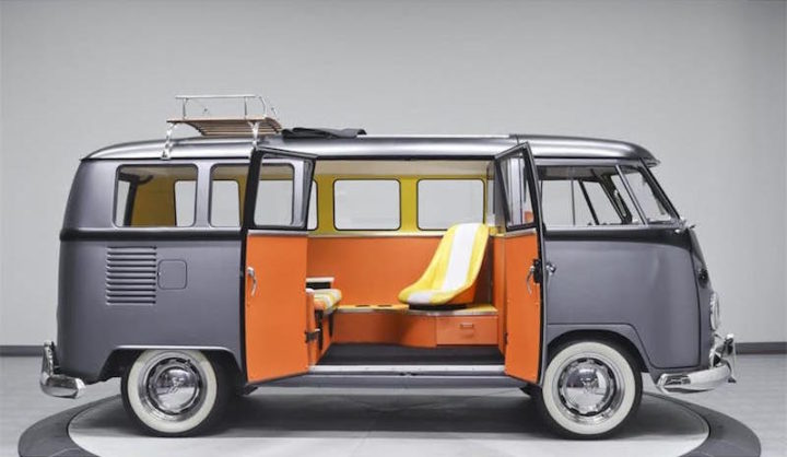 VW Combi Retour Vers Le Futur