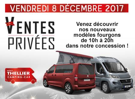 ventes priv es fourgons chez thellier camping car 14 fourgon van. Black Bedroom Furniture Sets. Home Design Ideas