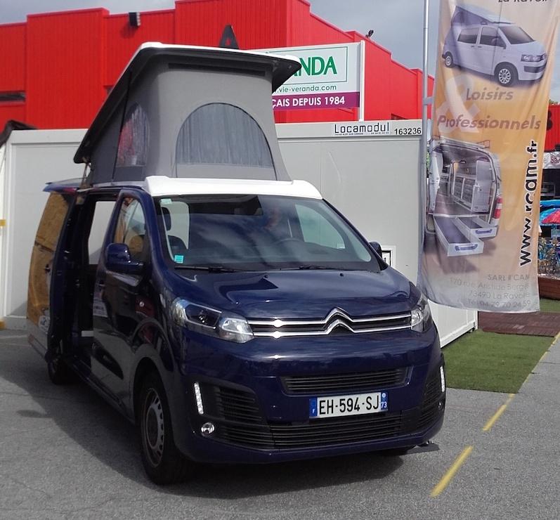 R'Cam Citroën Jumpy Extérieur