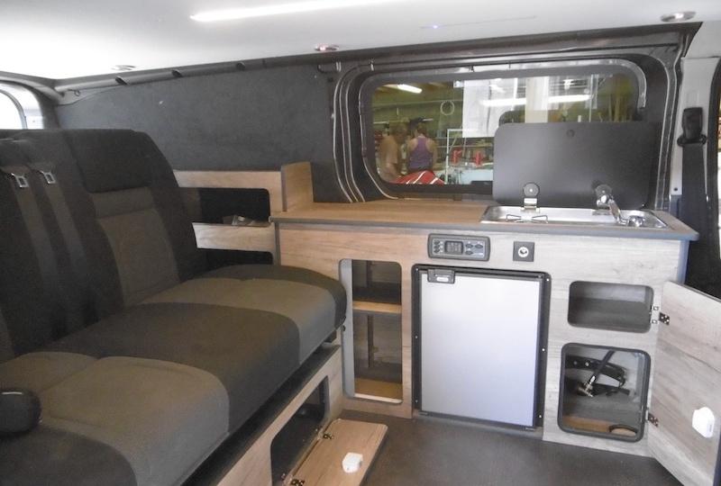 R'Cam Citroën Jumpy Intérieur