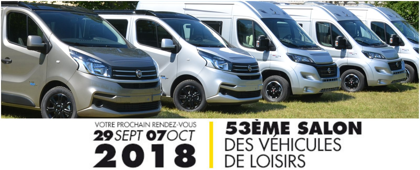 53 me salon des v hicules de loisirs du bourget fourgon for Salon du camping car le bourget