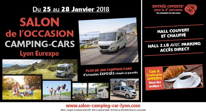 Salon De L Occasion Camping Cars Lyon Eurexpo Fourgon Van