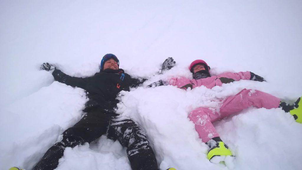 Le plaisir des sports d'hiver !