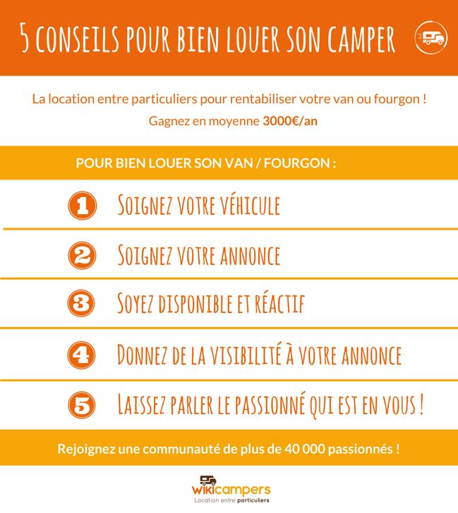 5 Conseils Pour Bien Louer Son Camper Wiki !