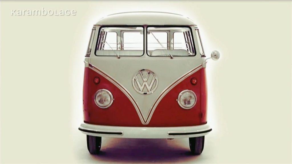 le combi volkswagen expliqu en vid o fourgon van. Black Bedroom Furniture Sets. Home Design Ideas