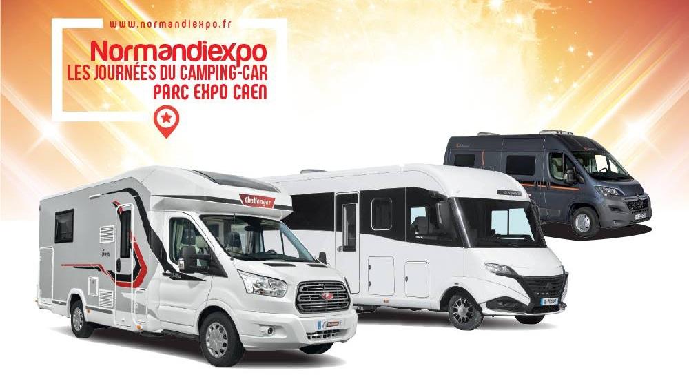 normandiexpo les journ es du camping car caen 14 fourgon van. Black Bedroom Furniture Sets. Home Design Ideas