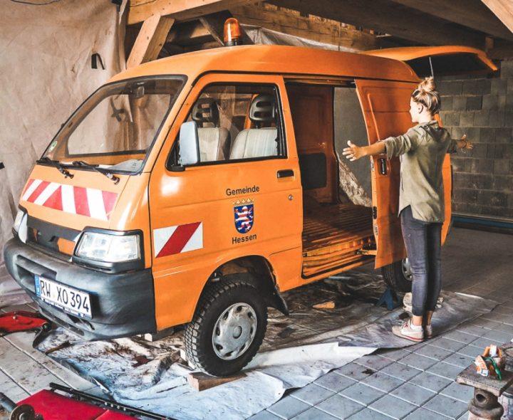 Un Mini Van Piaggio Malin Et 233 Conomique Fourgon Le Site