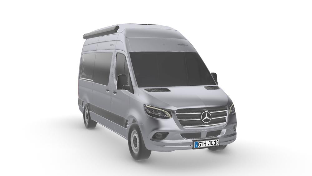 Futur Mercedes Sprinter 2018 >> Trois variantes de toit pour le futur James Cook sur ...