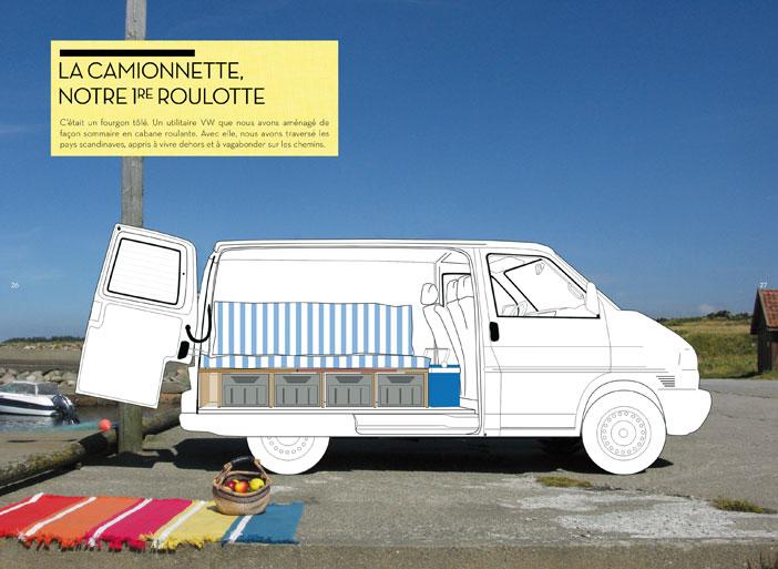 jamais sans mon kmion les recettes de la vie en fourgon fourgon van. Black Bedroom Furniture Sets. Home Design Ideas