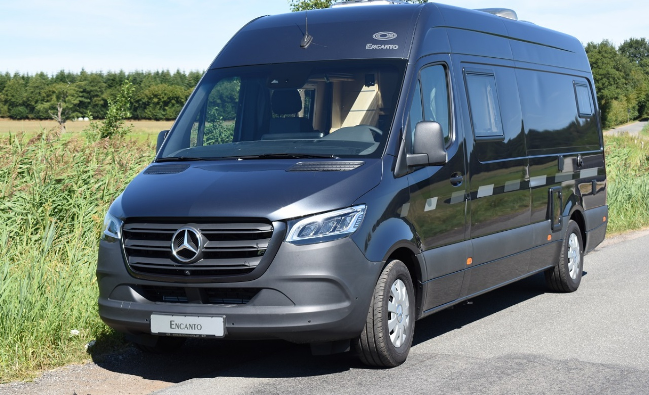 Fourgon camping car mercedes