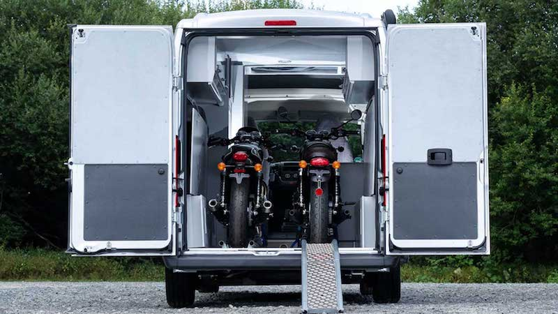 citro n jumper bike solution un fourgon camping car d di aux motards fourgon van. Black Bedroom Furniture Sets. Home Design Ideas