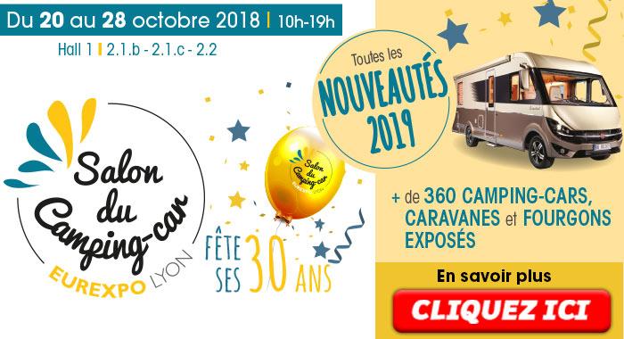 Salon Du Camping Car Neuf De Lyon 69 Fourgon Van