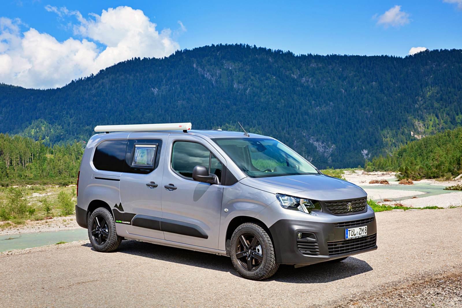 Un Amenagement Sur Peugeot Partner Presente A Dusseldorf Fourgonlesite