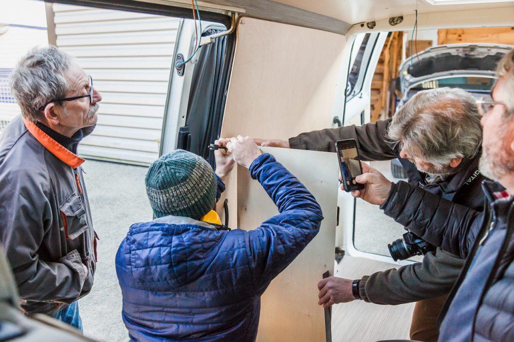 LD CAMP organise des stages pour aménager son van